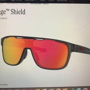 Oakley Crossrange Shield Prizm Lens